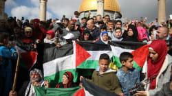 Les Palestiniens manifestent toujours pour
