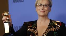 Aux Golden Globes 2018, un défilé d'actrices toutes de noir