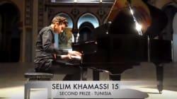 Le jeune pianiste tunisien Selim Khamassi obtient le 2eme place de la compétition internationale Malek Jandali à New