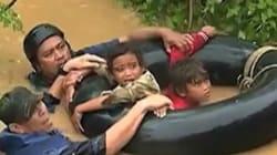 Philippines: les images de la violente tempête Tembin qui balaie