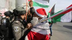 A Bethléem et en Palestine occupée, un Noël assombri par la décision américaine sur