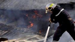 Un incendie dans le marché populaire d'Aïn Naâdja fait un blessé et détruit 22