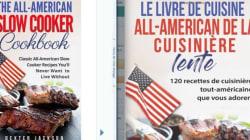 La traduction de ce livre de cuisine est
