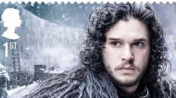 영국 우체국이 '왕좌의 게임' 우표를
