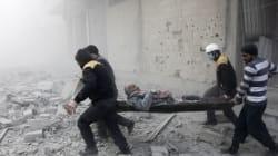 Syrie: 23 civils tués près de Damas, la plupart par des frappes russes