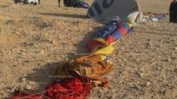 Une montgolfière transportant des touristes s'écrase en
