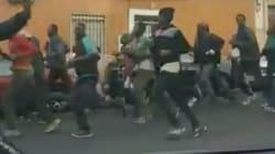Plus de 200 migrants forcent la frontière entre le Maroc et
