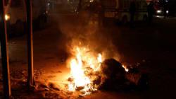 Manifestations: Nuit mouvementée en