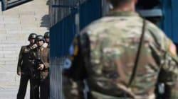 Les deux Corées sont en guerre, mais c'est une bataille de regards qu'elles se livrent chaque jour à la frontière