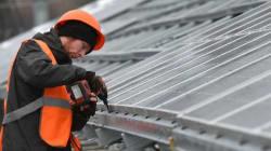L'Ukraine construit sa première centrale solaire à