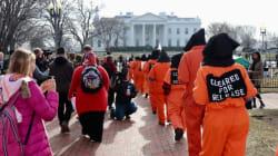 Onze détenus de Guantanamo poursuivent Trump en