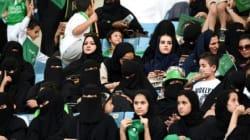 Des Saoudiennes pour la première fois au stade pour un match de
