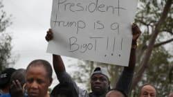 Trump visé par un déluge de condamnations après ses propos