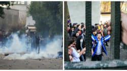 Ce lien étrange que font plusieurs sites d'information entre les manifestations en Tunisie et et celles en