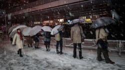 Neige au Japon: des dizaines de blessés, des centaines de vols