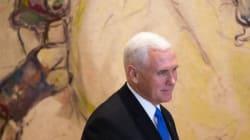 Le très attendu discours de Mike Pence à la Knesset interrompu par des députés arabes