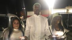 화재로 무너진 '타코벨'을 위해 장례식을