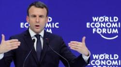À Davos, Macron ne tient pas le même discours en français qu'en anglais (et même les Américains ne sont pas