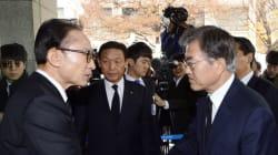 청와대가 MB를 평창올림픽에 초청한