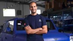 Le Tunisien Omar Guiga, fondateur du constructeur automobile