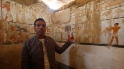 Egypte: Découverte de la tombe d'une prêtresse du temps des