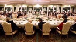 Visite d'Emmanuel Macron: Le menu du dîner présidentiel n'a visiblement pas plu aux