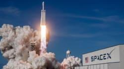 SpaceX: Lancement réussi de la super fusée