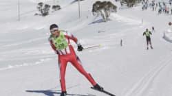 JO d'Hiver: Samir Azzimani, le skieur marocain tout
