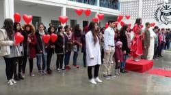 Saint-Valentin: Quand les élèves du Lycée pilote de l'Ariana expriment leur amour