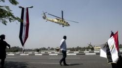 L'Egypte utilise des bombes à fragmentation dans le Sinai et s'en vante dans une