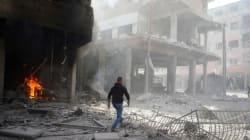 Syrie: 250 morts en 48h dans des bombardements à la Ghouta