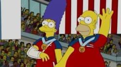 Le don de prédiction des Simpson a encore frappé pendant les JO d'hiver