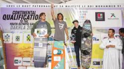 Jonas Ouahmid, jeune champion marocain de kitesurf se qualifie pour les JOJ 2018 à Buenos