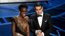 Oscars 2018: Le message subliminal sur les Dreamers et contre Trump de Lupita Nyong'o et Kumail