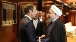 Macron demande à Rohani de faire