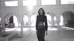 Vogue Arabia et Cindy Bruna sur les toits de Djerba pour un hommage à Azzedine