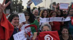 Des Tunisiennes manifestent pour réclamer l'égalité dans