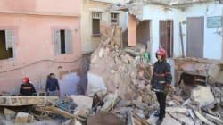 Cinq maisons s'effondrent à Casablanca après le mauvais