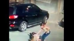 La vidéo d'un vol de voiture partagée sur les réseaux sociaux n'a pas été enregistrée au Maroc selon la