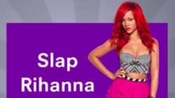 Cette pub sur Snapchat qui propose aux utilisateurs de gifler Rihanna