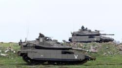 L'armée israélienne frappe la bande de Gaza en