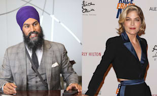 2476ba51ca8 Jagmeet Singh Defends Selma Blair After She's Accused Of Cultural  Appropriation