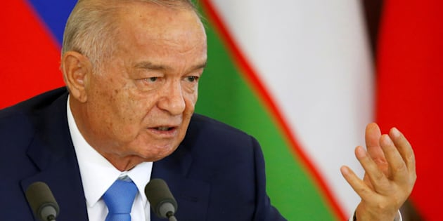 Uzbek President Islam Karimov in April. He left no obvious successor to take over Central Asia's most populous nation.