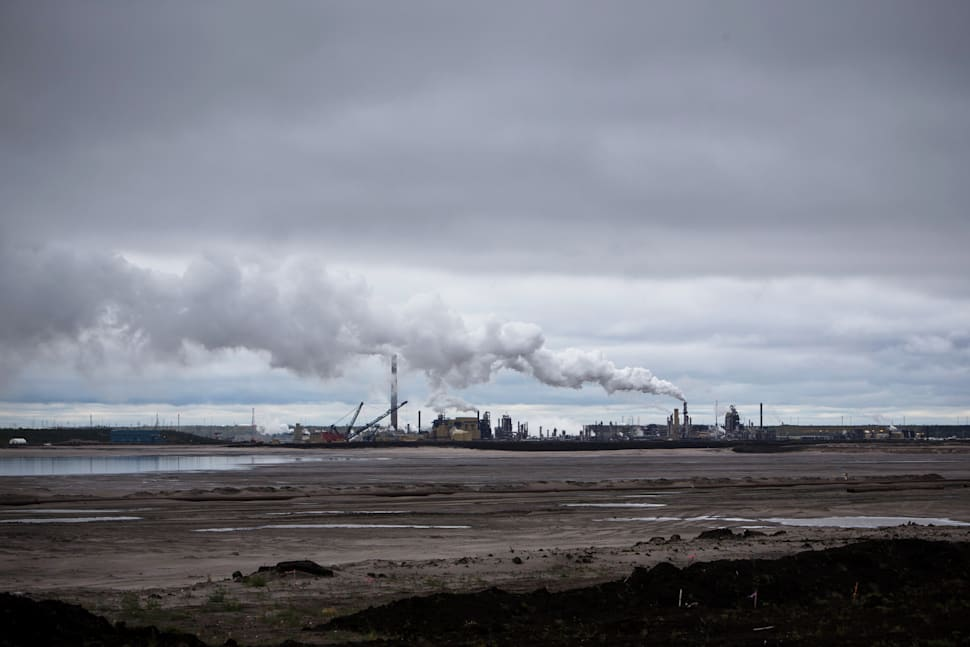 The Syncrude facility stands in the Athabasca oilsands near Fort McMurray, Alta. on Sept. 9,