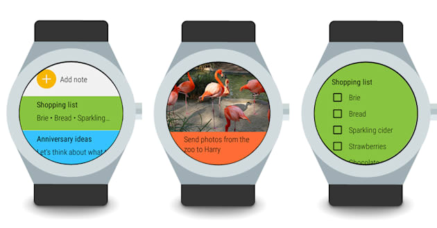 Take notes on your wrist with Google Keep and Android Wear