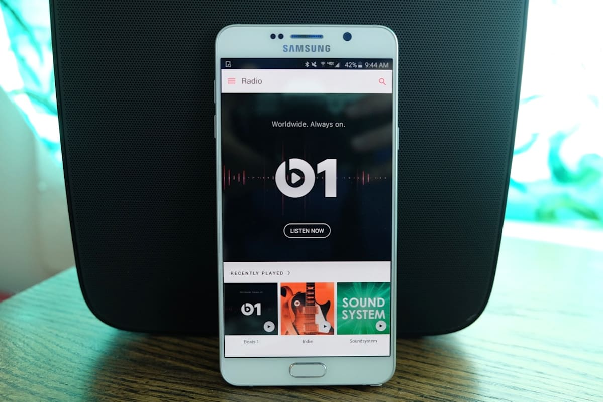 Apple Music is live on Android devices today
