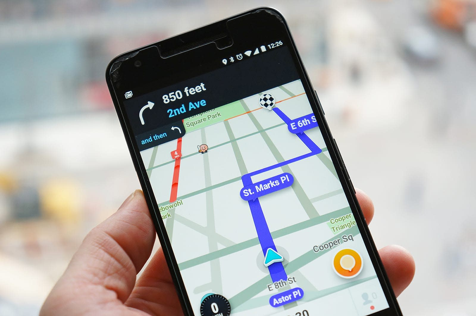 Waze sends real-time accident data to drivers and first