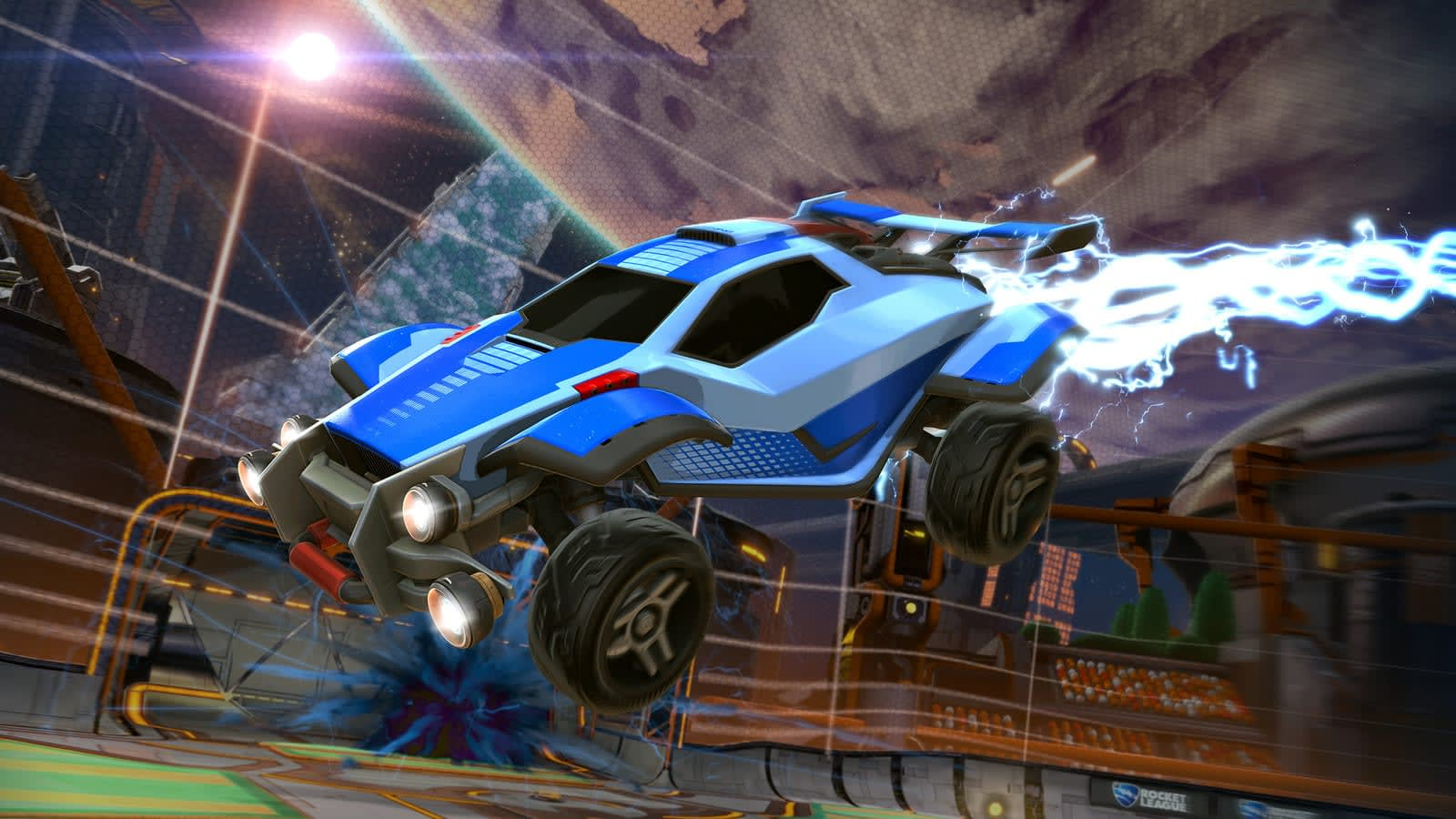 Rocket League' blasts into 4K with PS4 Pro support