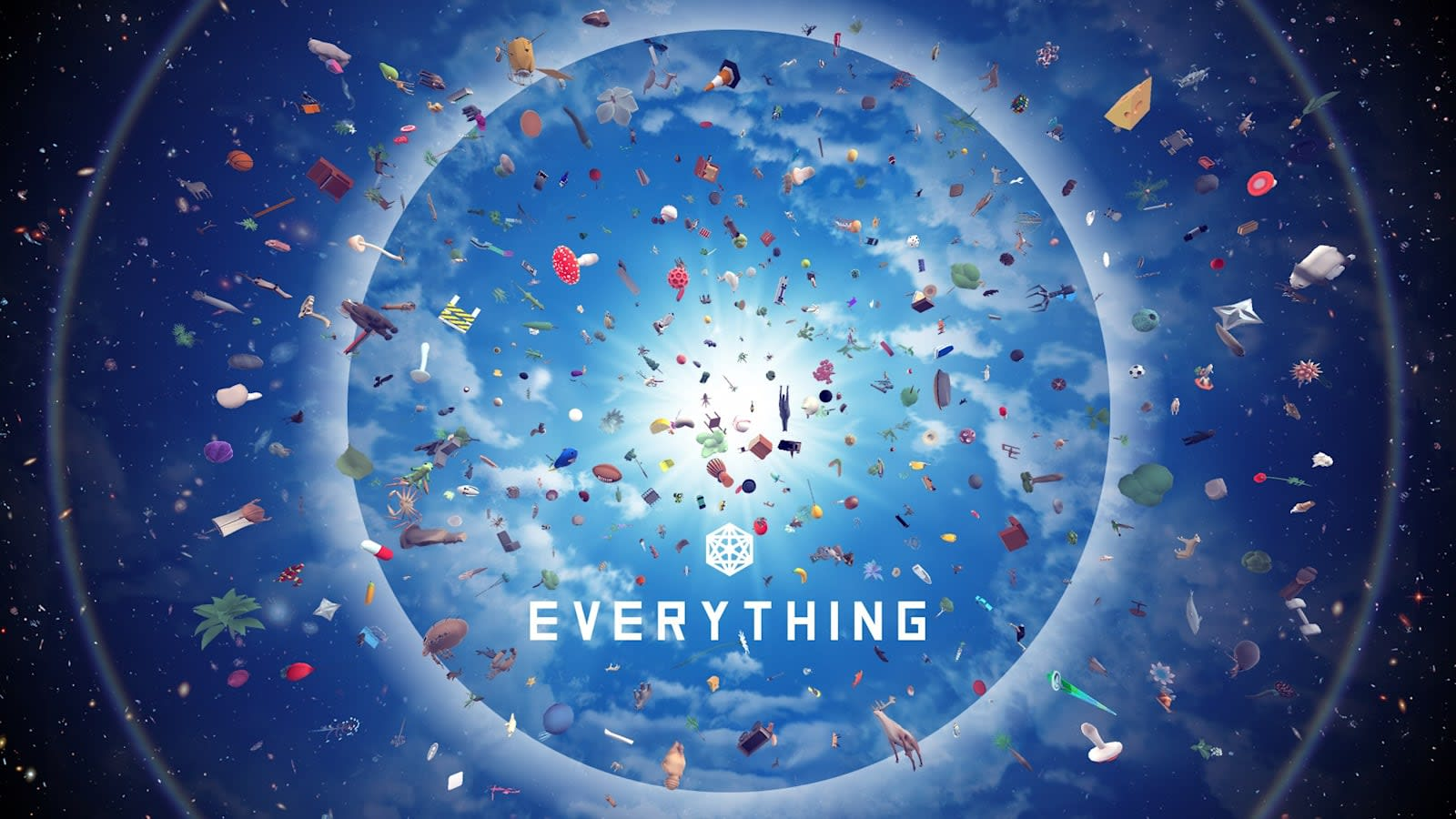 Play as a ladybug or a traffic cone in 'Everything'
