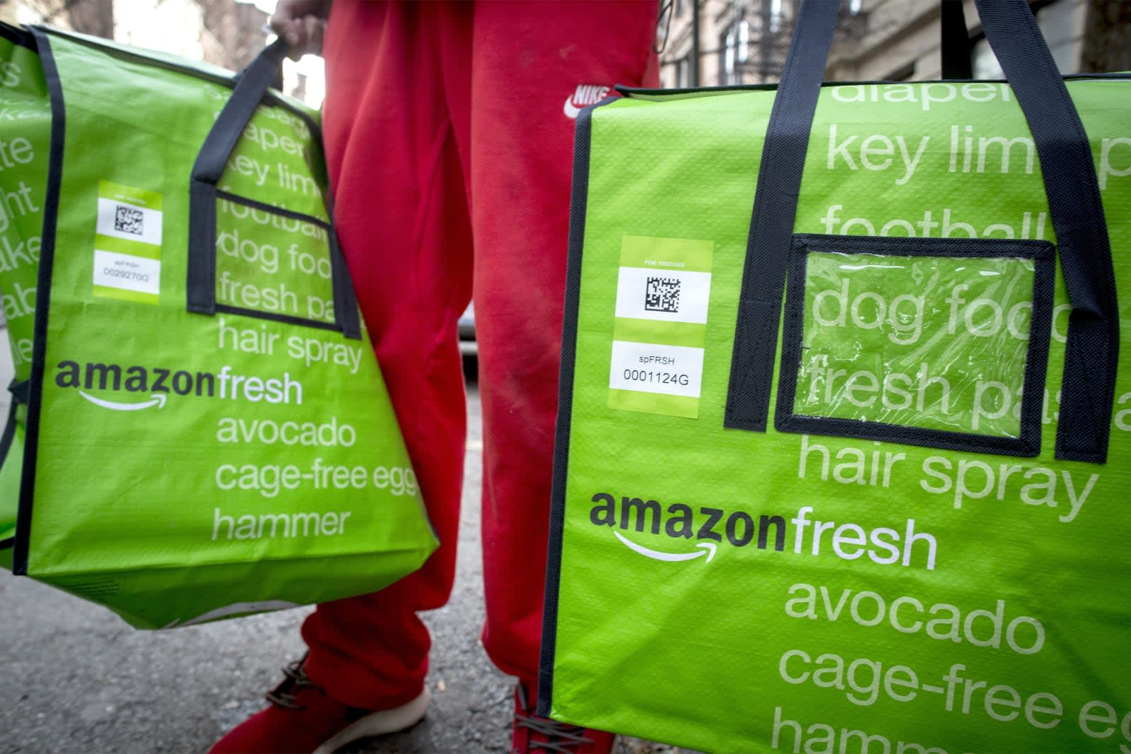 Amazon And Online Grocery Services Will Soon Accept Food